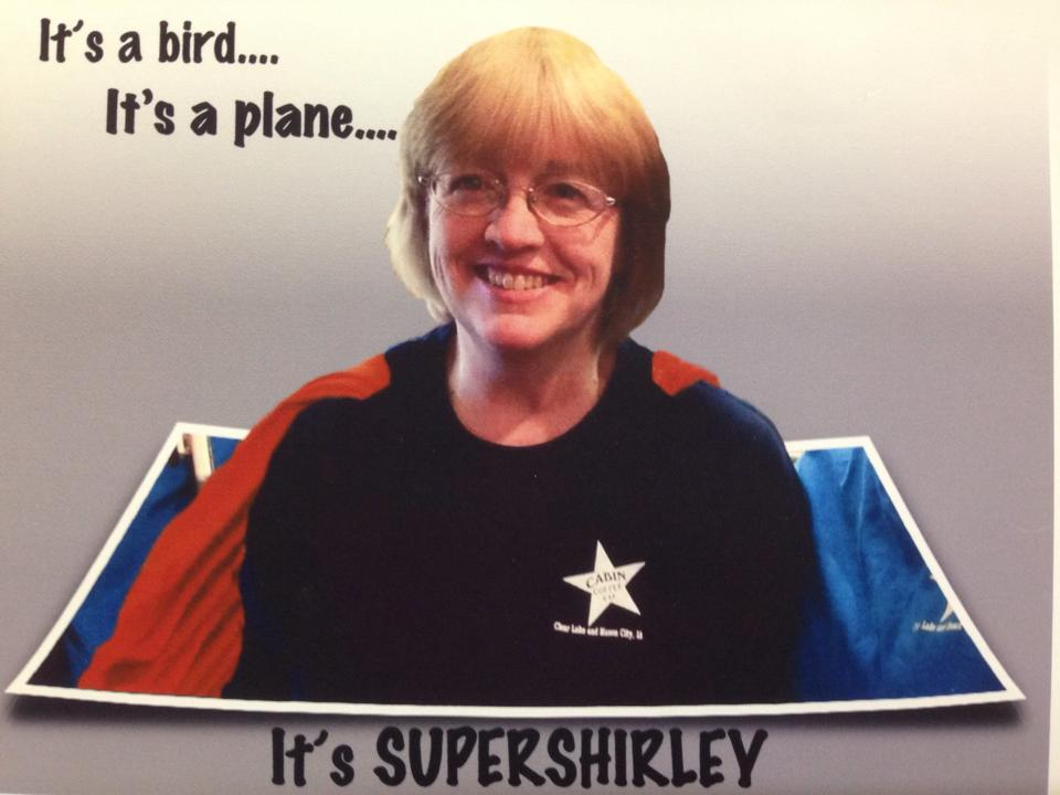 Super Shirley is one super barista...no joke!