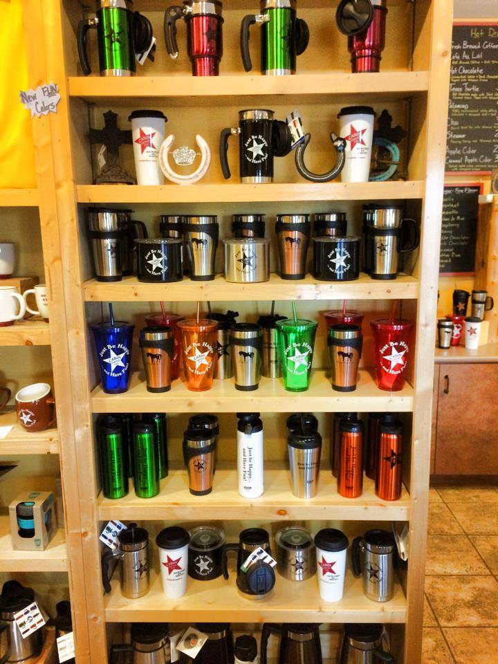 We like to give you as many options as we can for different travel mugs. Im sure we have something to fit you!