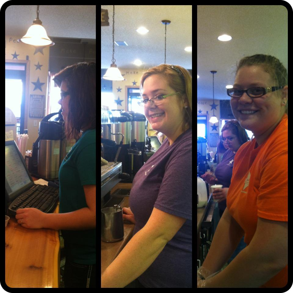 A few of our baristas!