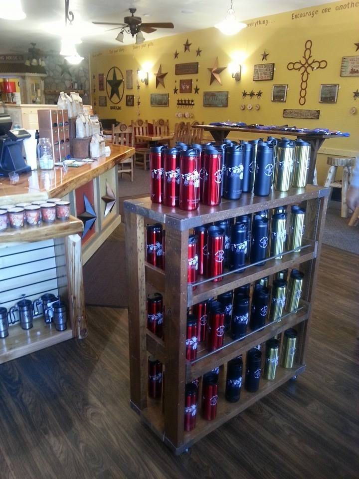 Inside of our new store, Breckenridge!