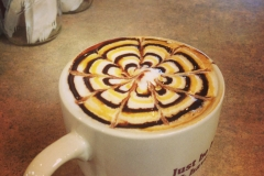 Our Mason City girls getting creative with their latte art. Looks scruptious!