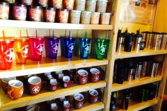 Check out all the different cups and mugs we have to offer!