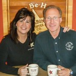 Brad & Angie Barber - Owners of the Cabin Coffee Franchise