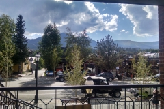 View From the front of Breckenridge store