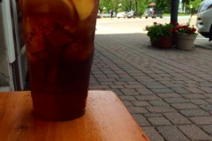 Relax with a nice ice tea on a nice Iowa summer day.