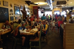 Our store was packed with tons of cyclists as they went through Clear Lake on their way to spend the night in Mason.