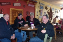 Some of our Mason City regulars just hanging out with a good cup of joe.