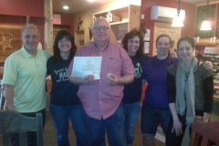 Jay Lee traveled to all of our Cabin locations in one day. He is such a great supporter!